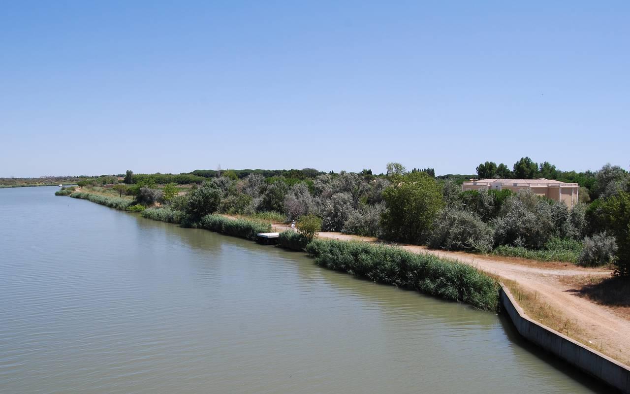 Canal du Rhône à Sète, Salle de réception Camargue, Le Mas des Sables