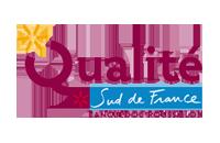 Logo qualité sud de France hôtel Aigues mortes