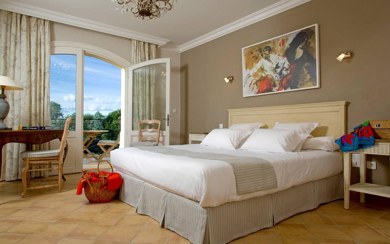 Chambre de villa hôtel de charme Camargue