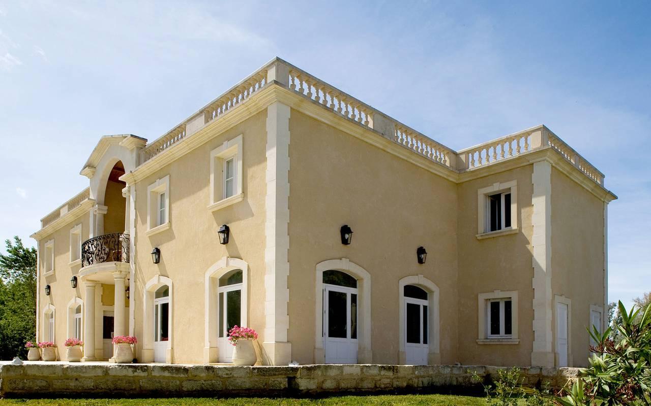 Grande villa hôtel de charme Camargue