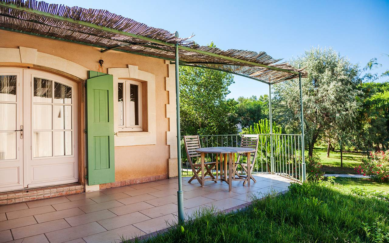 House with greenery charming hotel Camargue, Le Mas des Sables