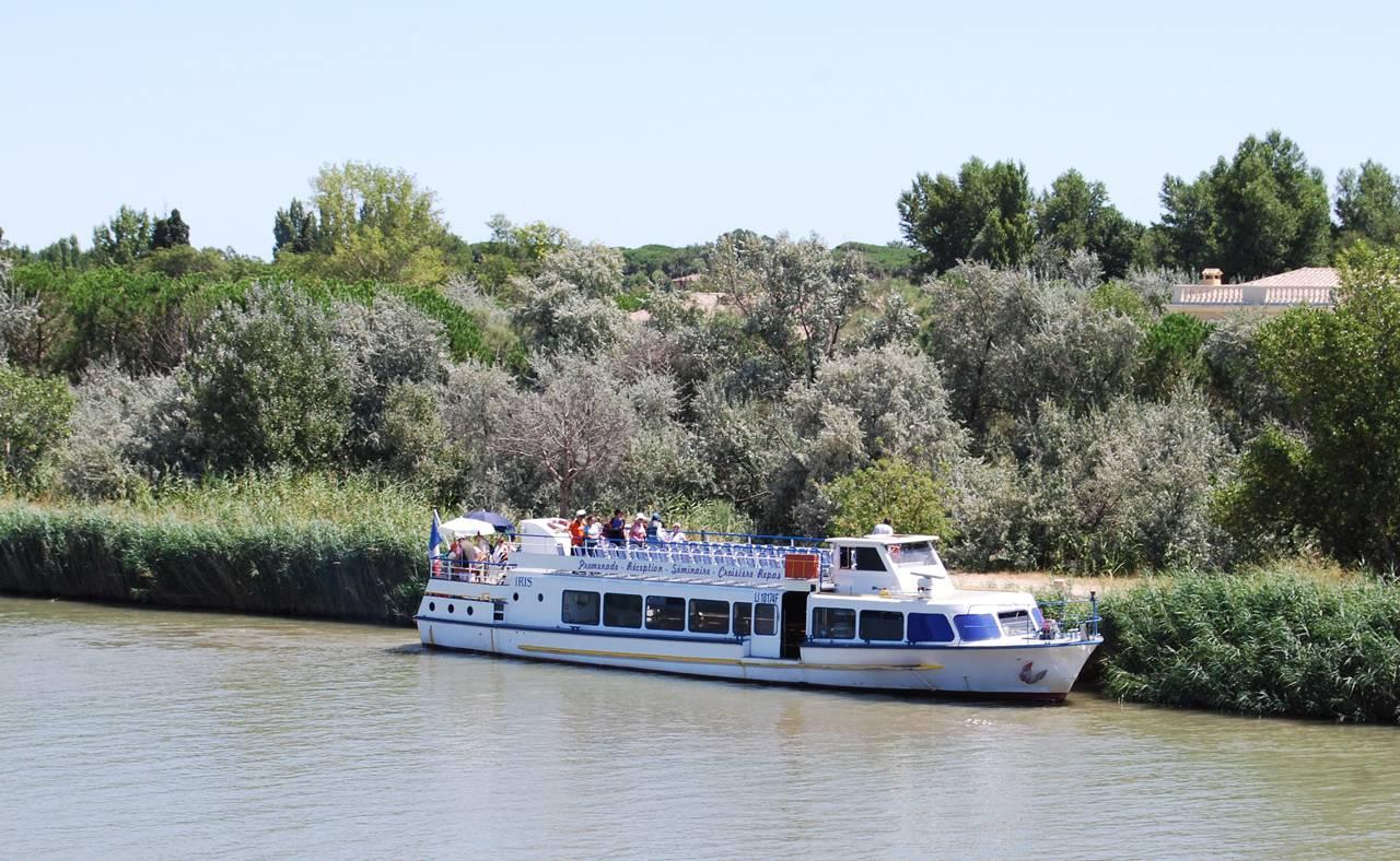 Activité bateau séminaire Aigues mortes